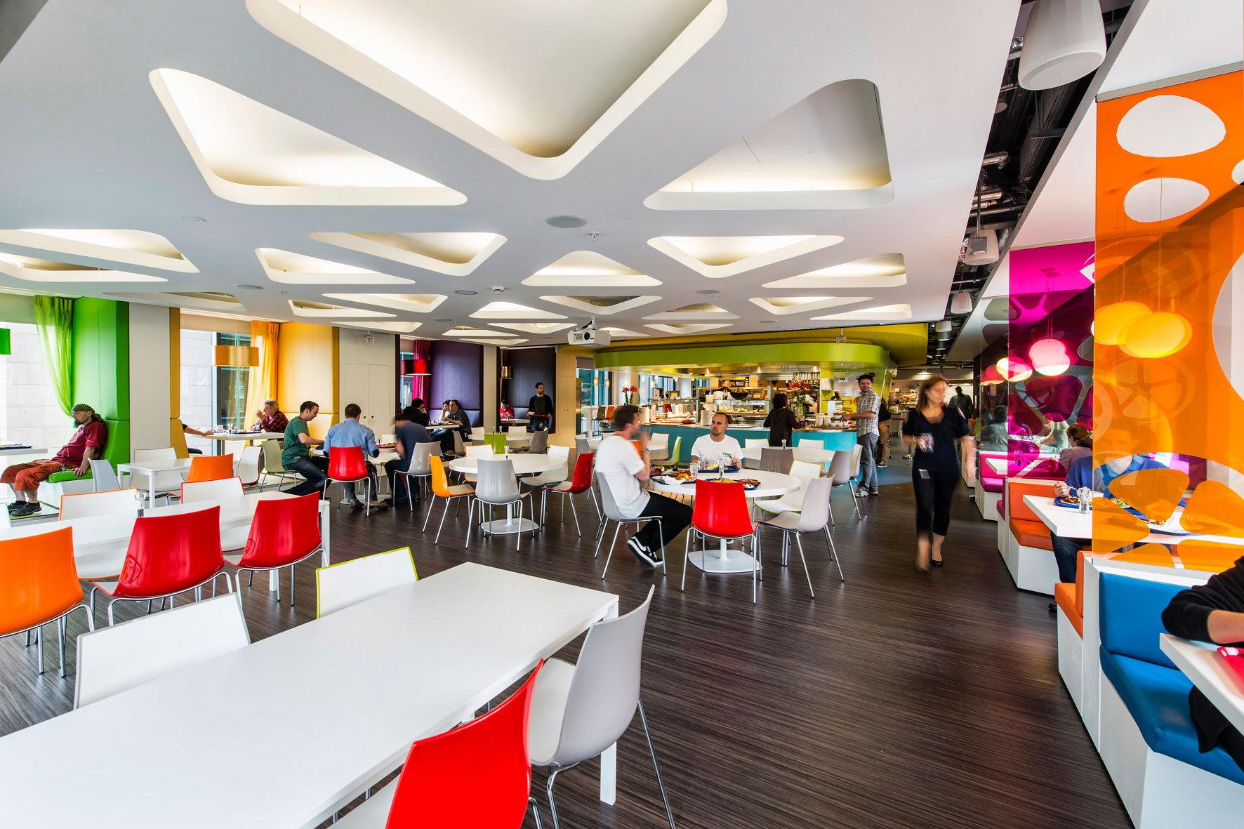 Pedrali Furnishes Google Campus in Dublin