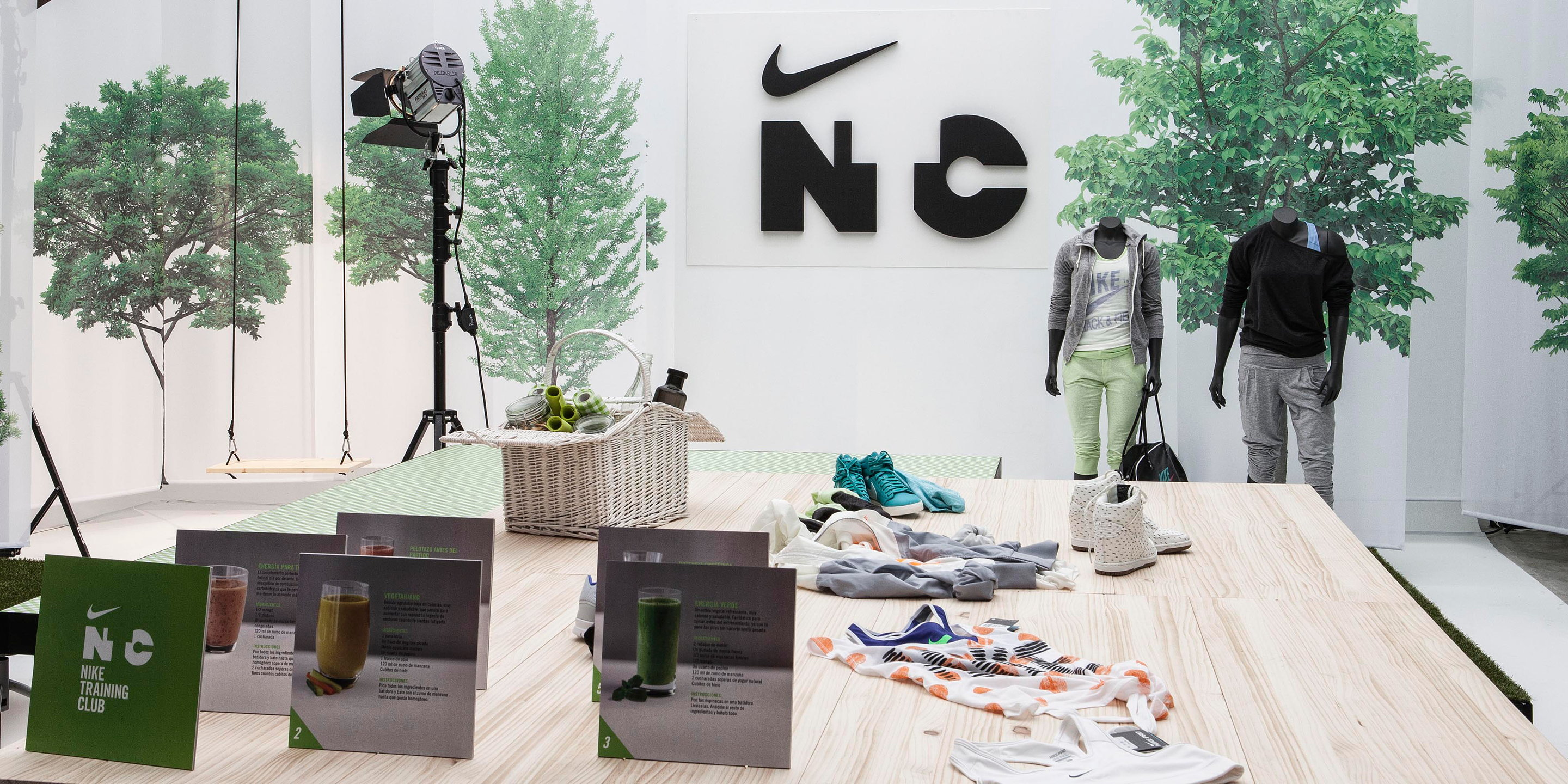 Nike Training Club Hub Madrid