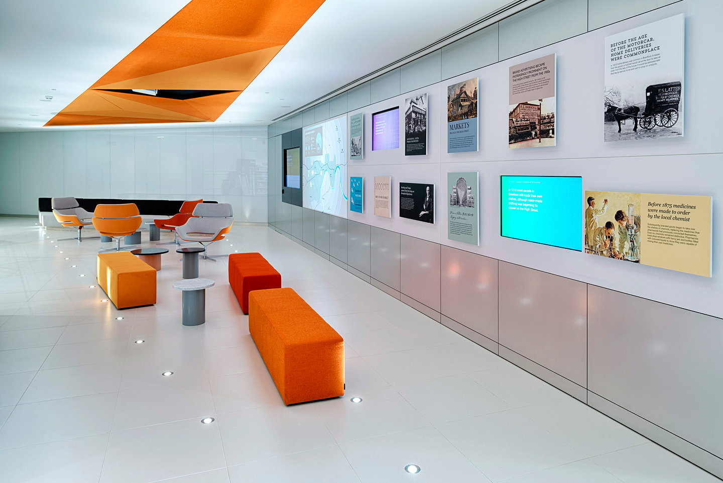 lab science glaxosmithkline shopper london gsk pope wainwright office inside human performance labs research retail designed mobile dexigner