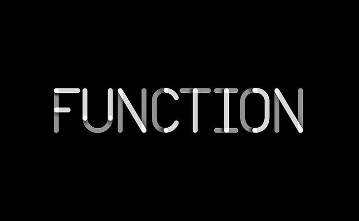 Sagmeister walsh designs new identity for function for Mechanical product design companies