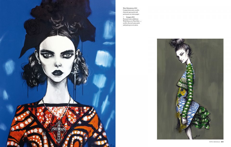 Illustration Now Fashion Julius Wiedemann