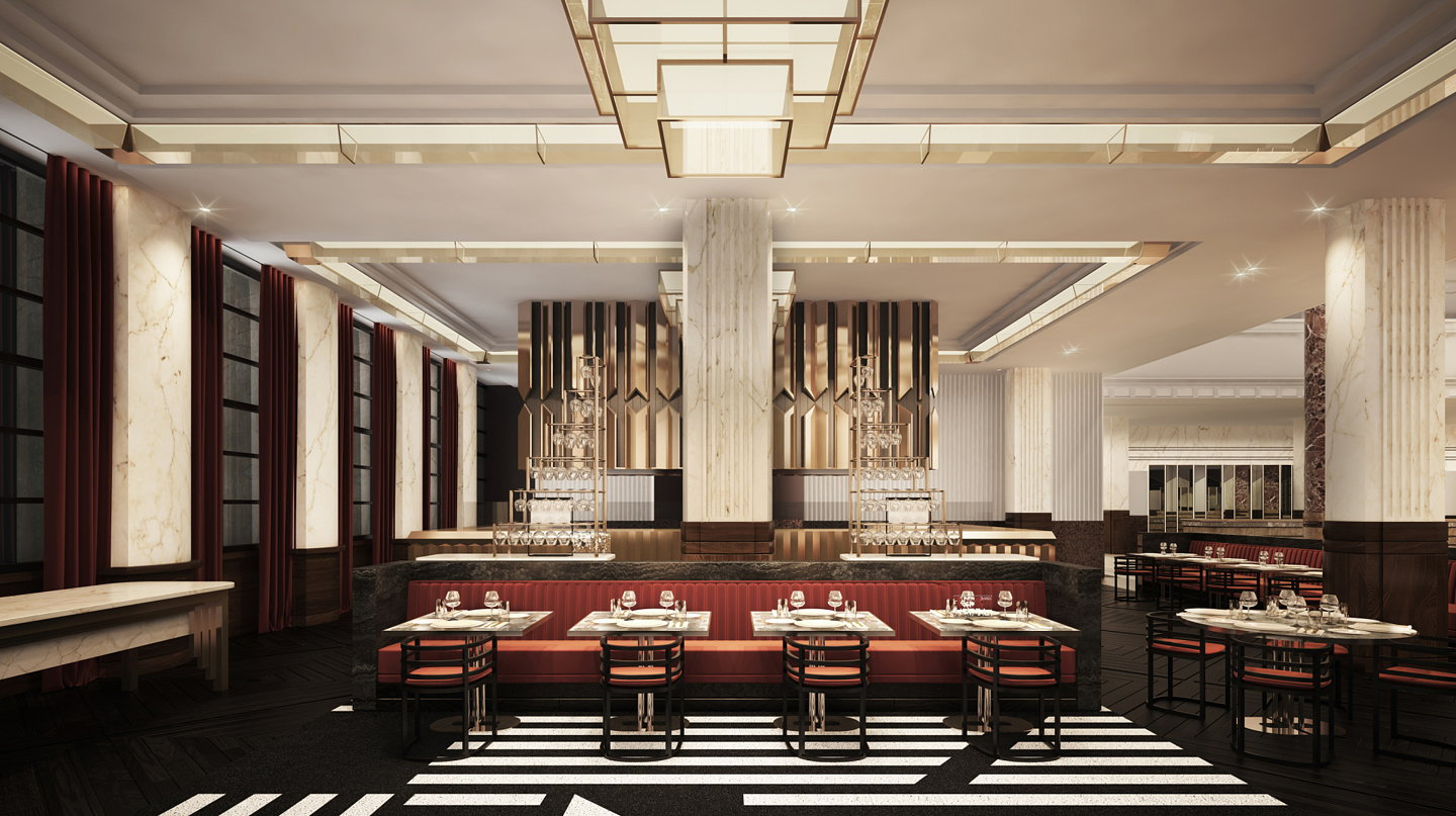 Contemporary design hotel breathes new life into heritage icon - Deco modern verblijf ...