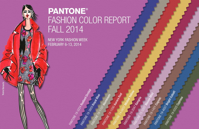 Pantone fashion color report 2008