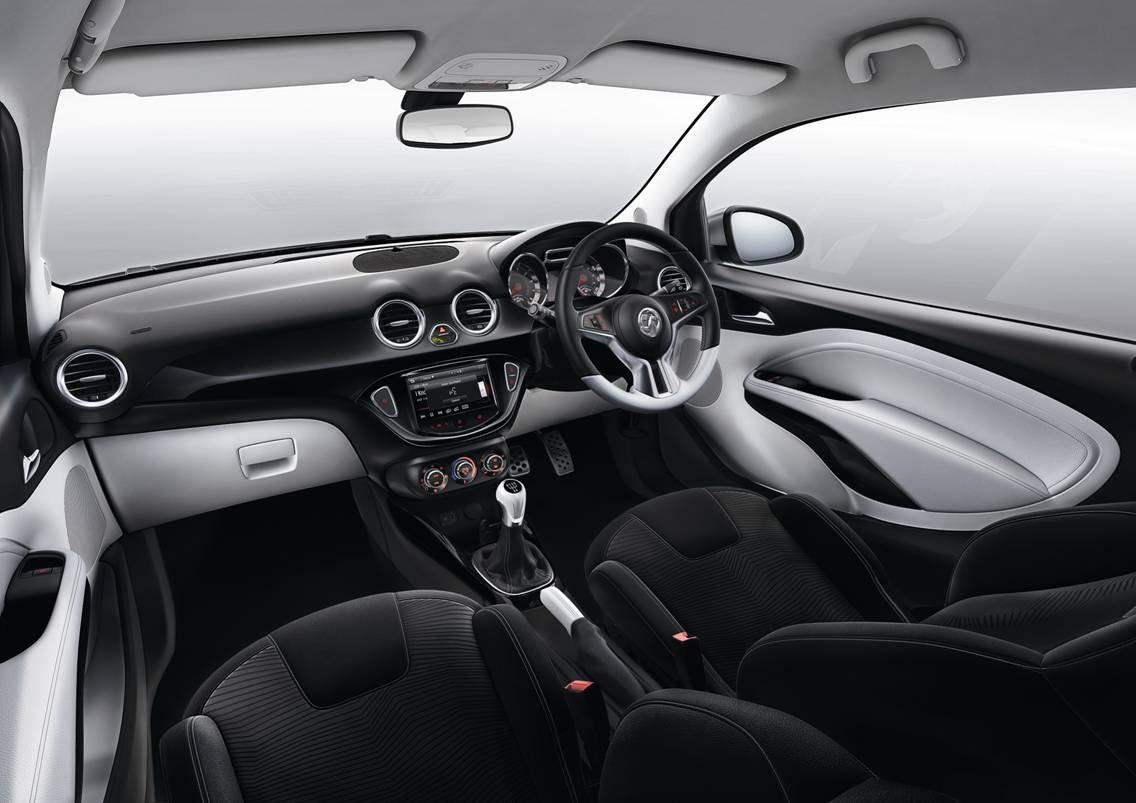 Vauxhall Adam Black And White