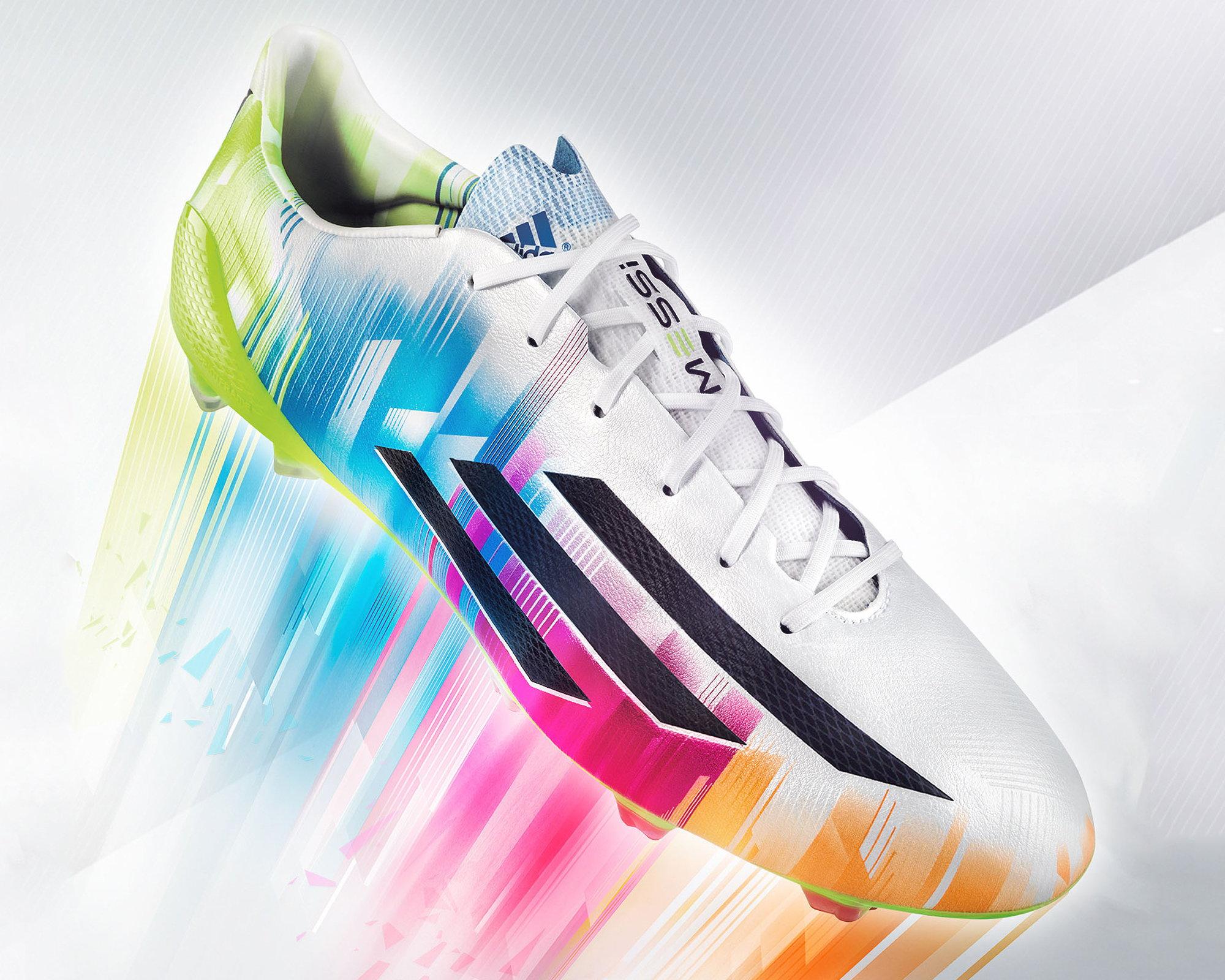 designer fashion edae8 1a1b6 New Adizero F50 Leo Messi Signature Cleat