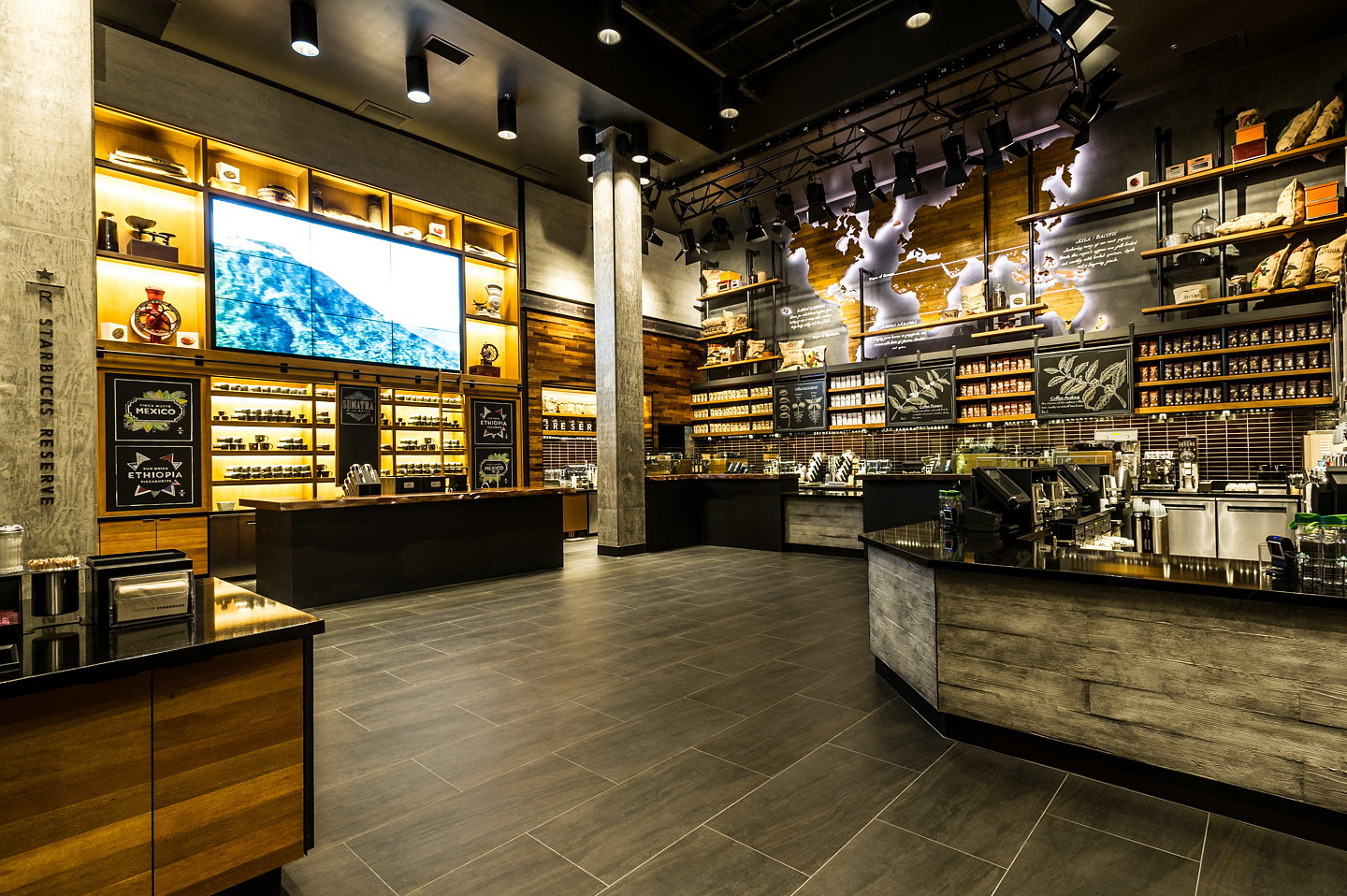 Starbucks Opens First Store In Downtown Disney District