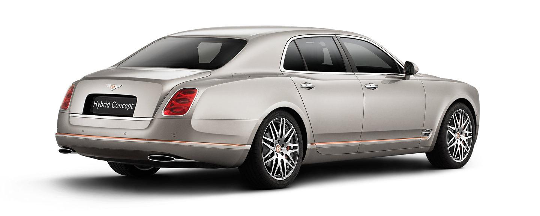 Bentley Unveils Hybrid Concept at International Automotive Show