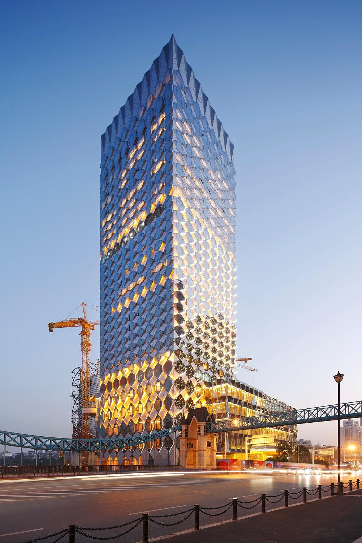 Facade: Make Designs Façade For Wanda Reign Hotel