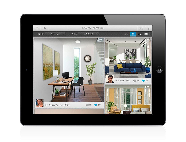 Homestyler Autodesk Homestyler Mobile