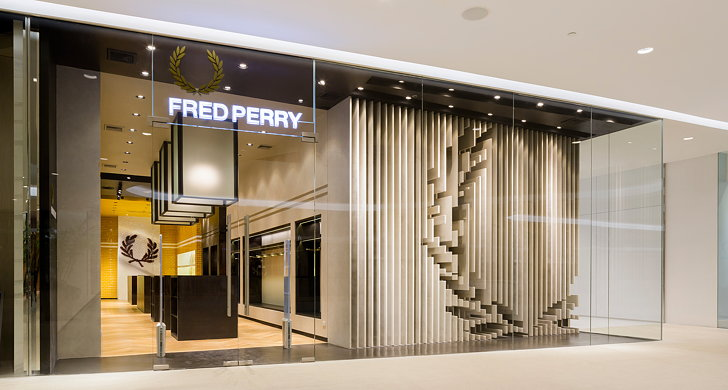 fred perry bangkok extends the design language buckleygrayyeoman has. Black Bedroom Furniture Sets. Home Design Ideas