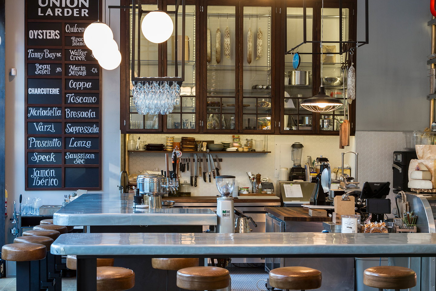 eight inc. brings refinement and design to union larder