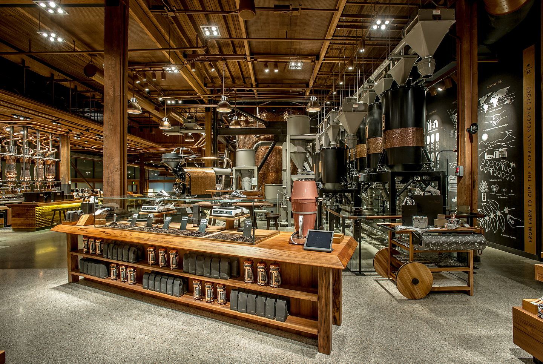 Starbucks Reserve Roastery And Tasting Room Reimagines The
