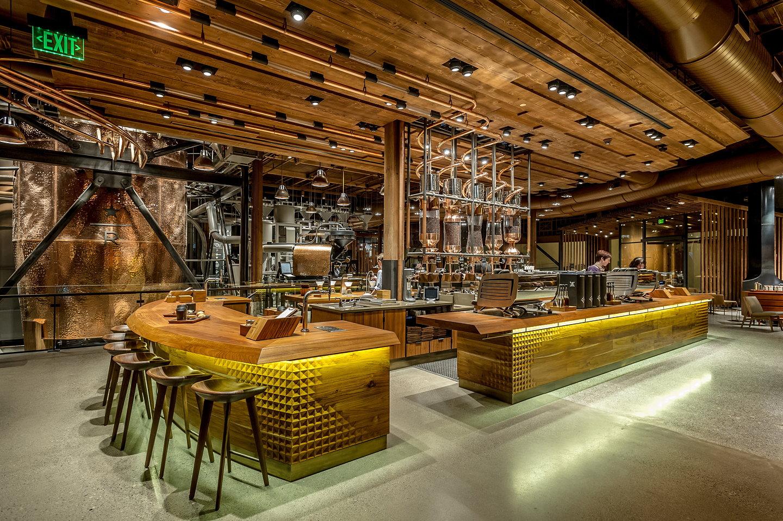 Starbucks Reserve Roastery and Tasting Room Reimagines the ...