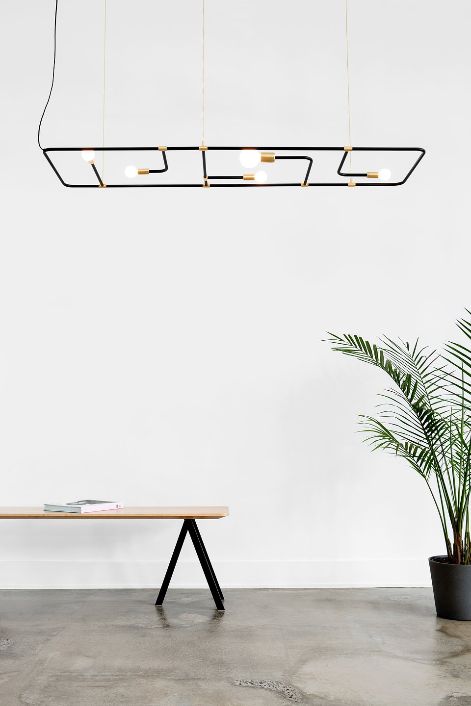 Lambert Fils Recently Unveiled Its New Lightning Fixture Beaubien Made Of Aluminum Powder Coated Steel And Brass The Is Situated In An
