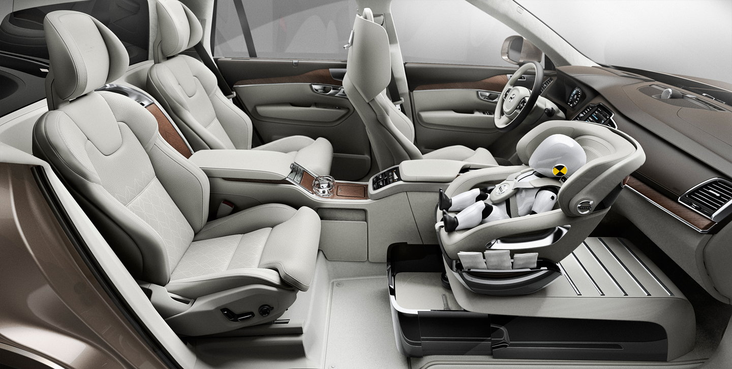 volvo unveils xc90 excellence child seat concept. Black Bedroom Furniture Sets. Home Design Ideas