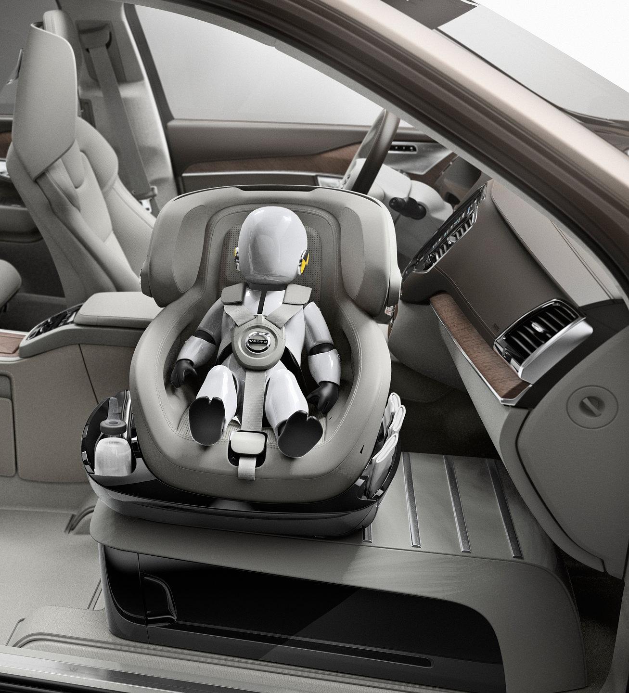 Volvo Unveils XC90 Excellence Child Seat Concept