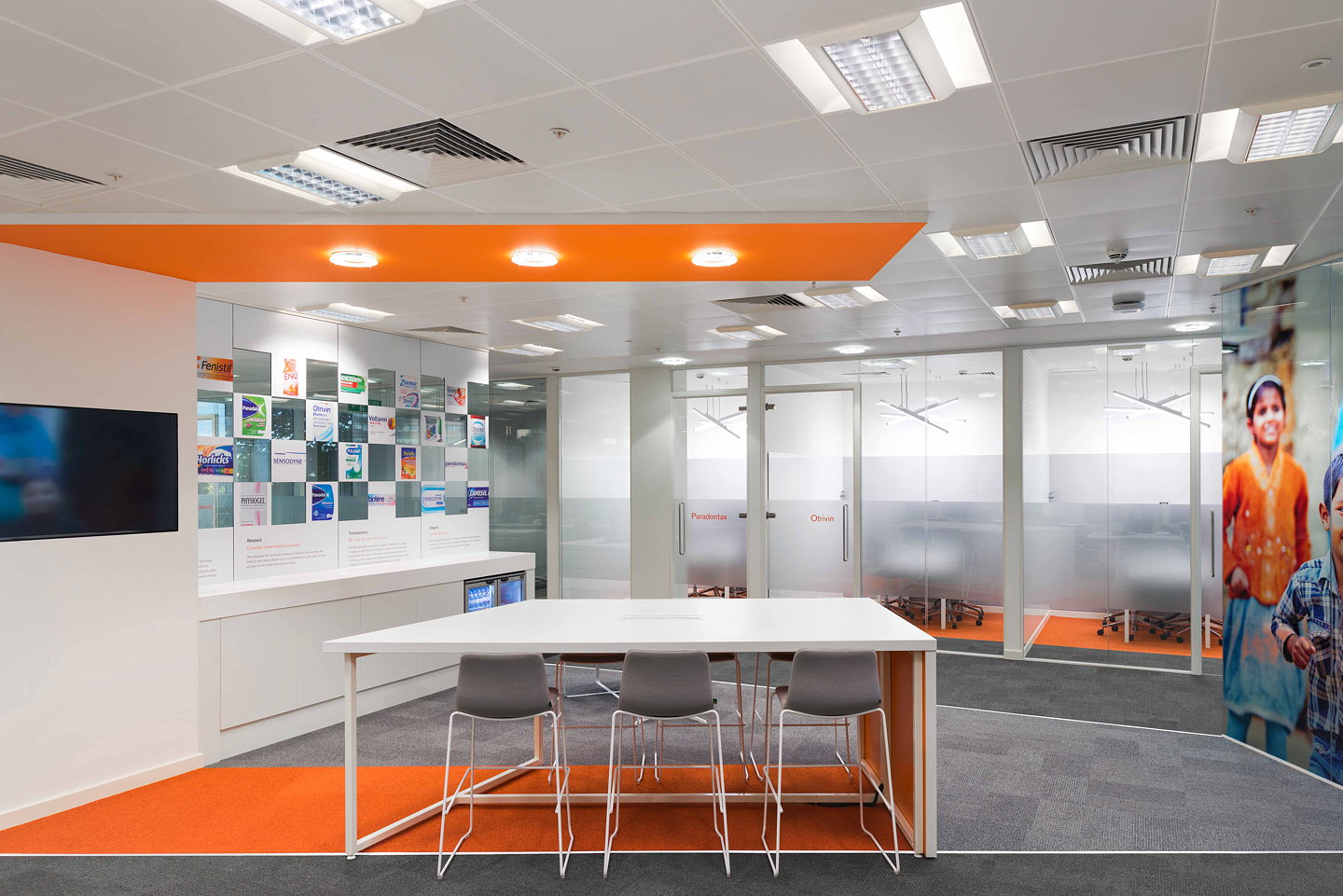 pww designs gsks consumer healthcare offices