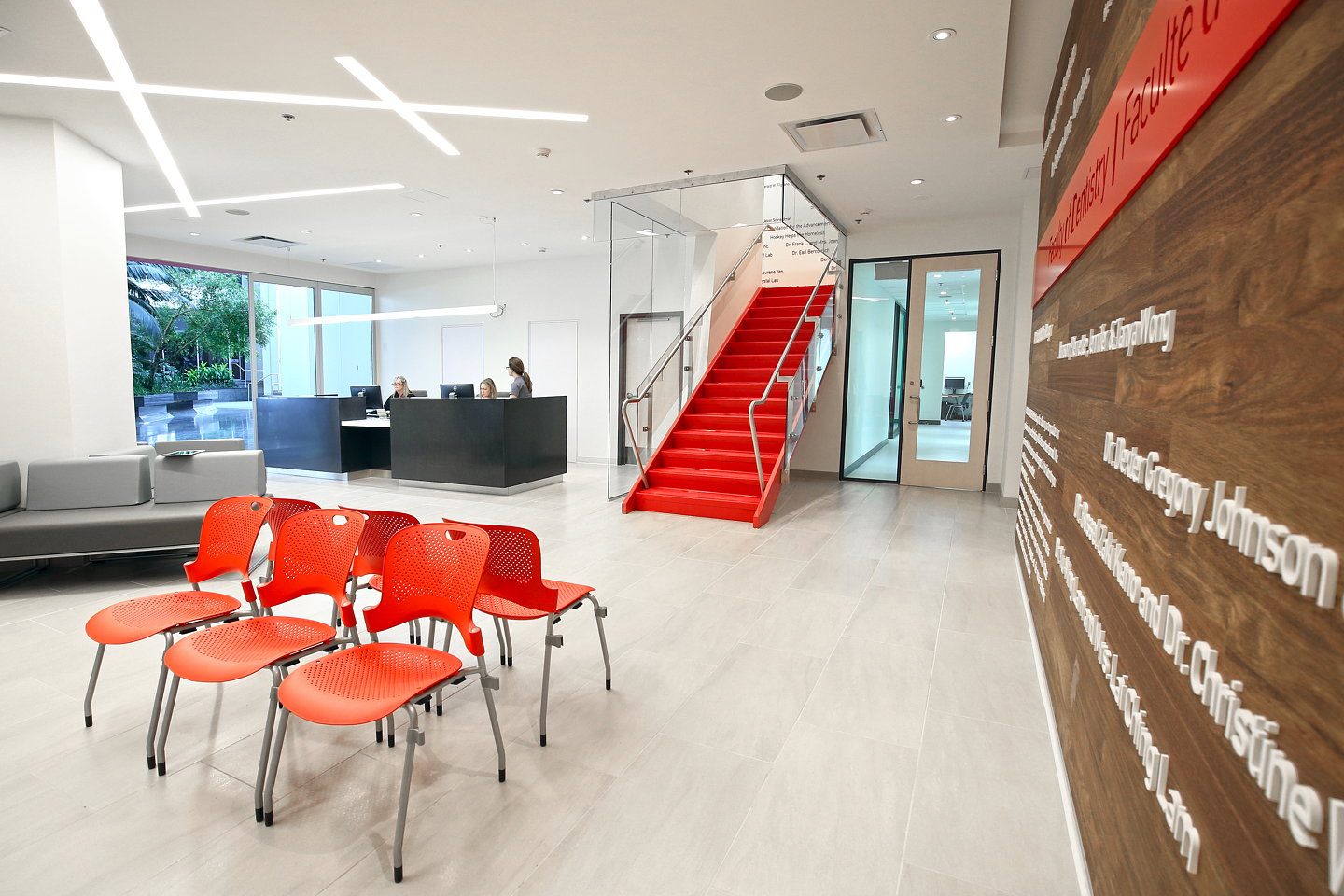 Mcgill university faculty of dentistry lighting design by lumigroup