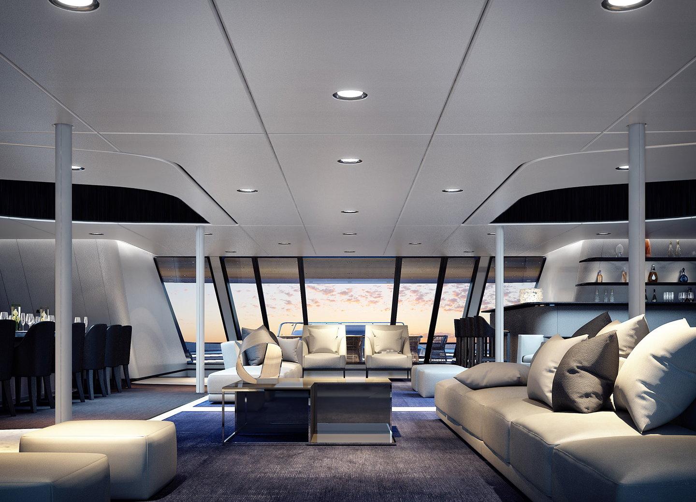 ottantacinque mega yacht by fincantieri and pininfarina