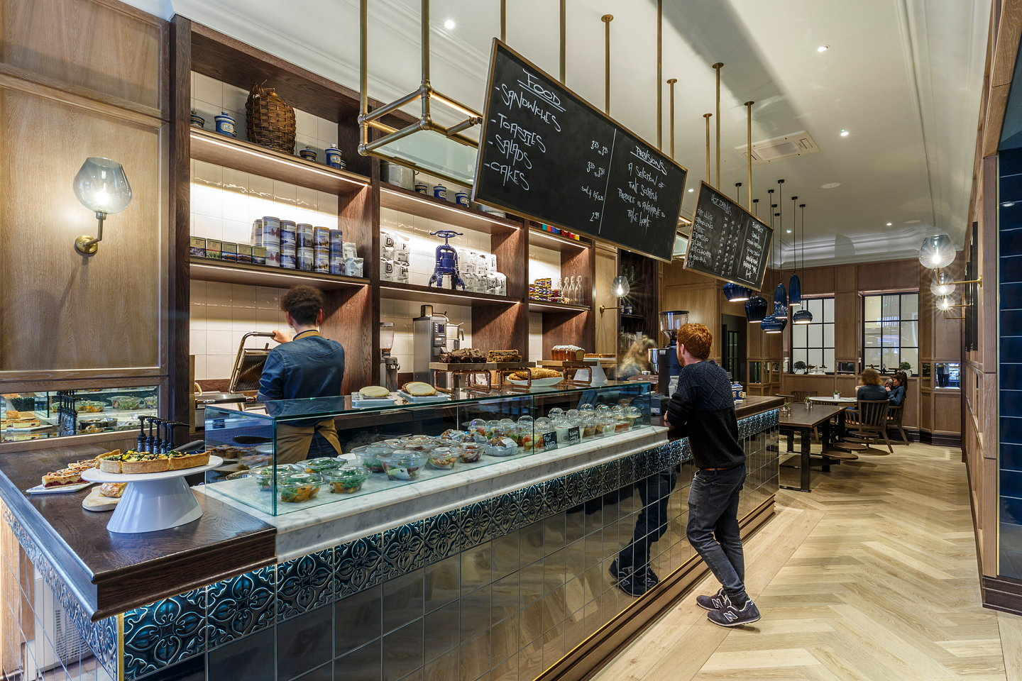 The george edinburgh new restaurant and coffee shop by