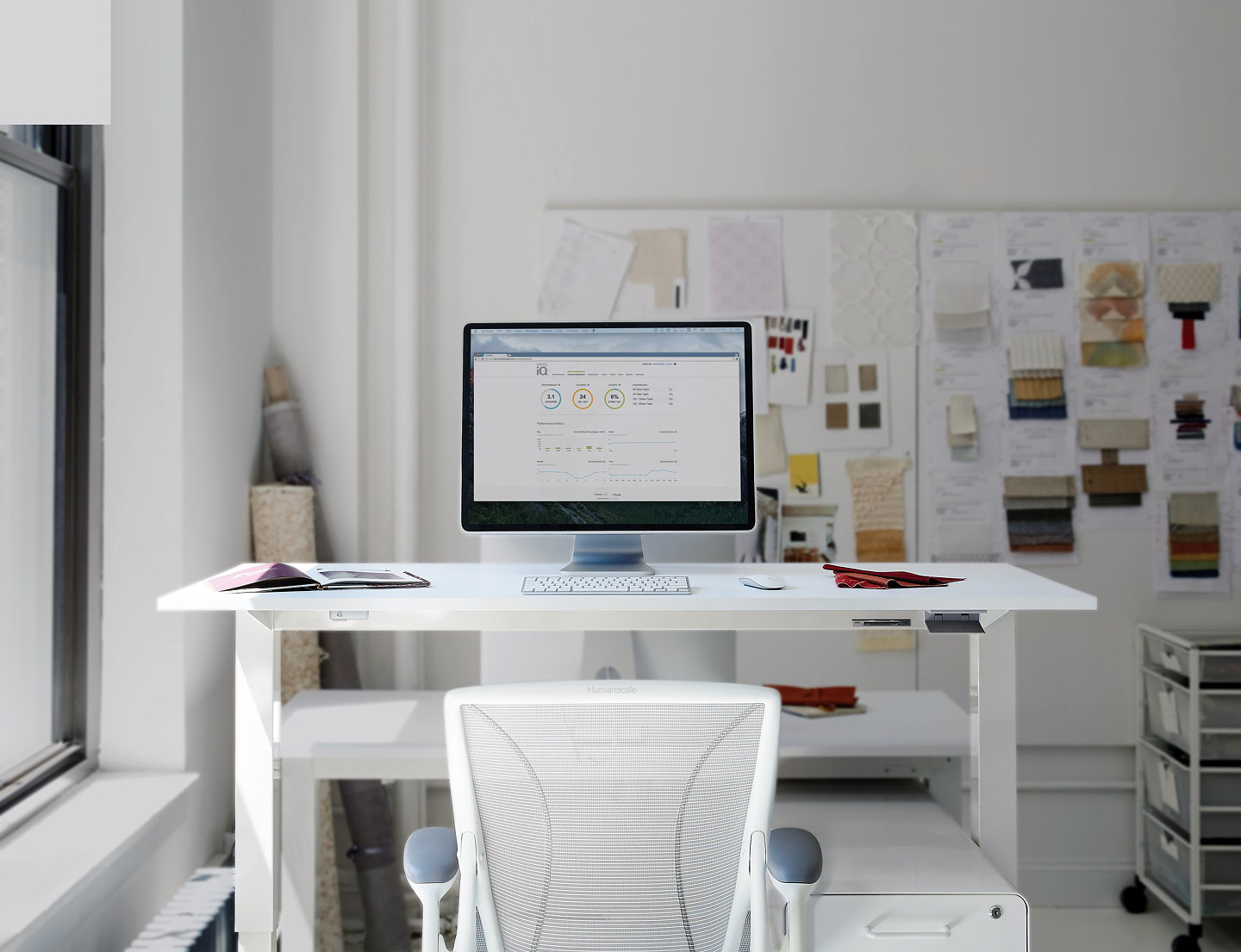 Humanscale And Tome Introduce Officeiq