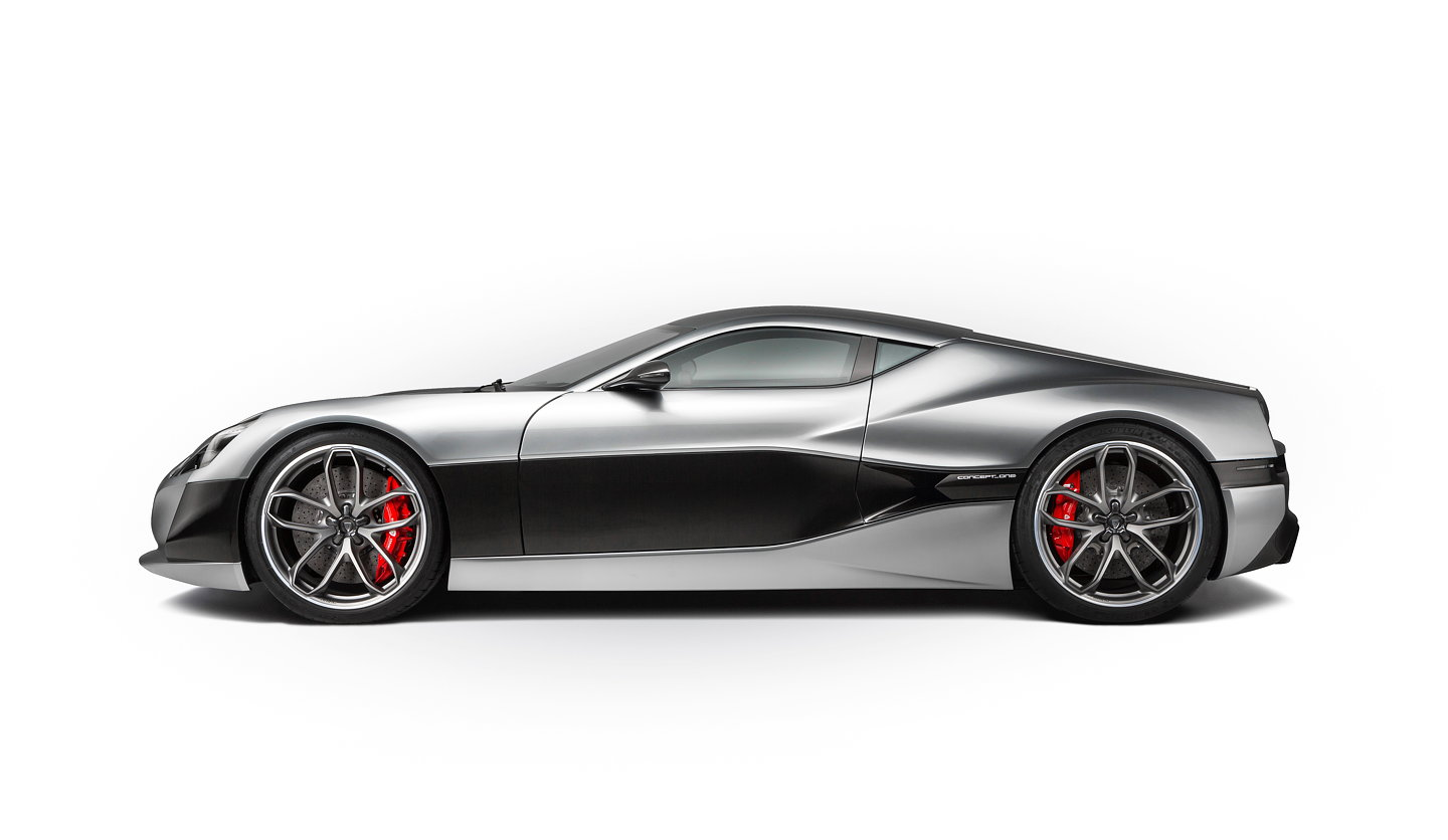 Rimac Automobili has unveiled the Concept_One, production version of ...