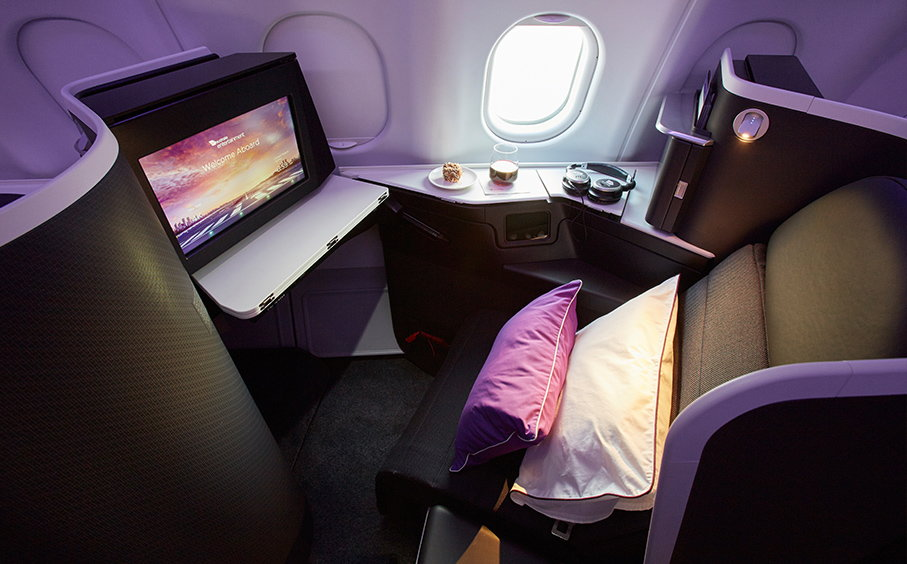 Virgin Australia New Business Class Cabin