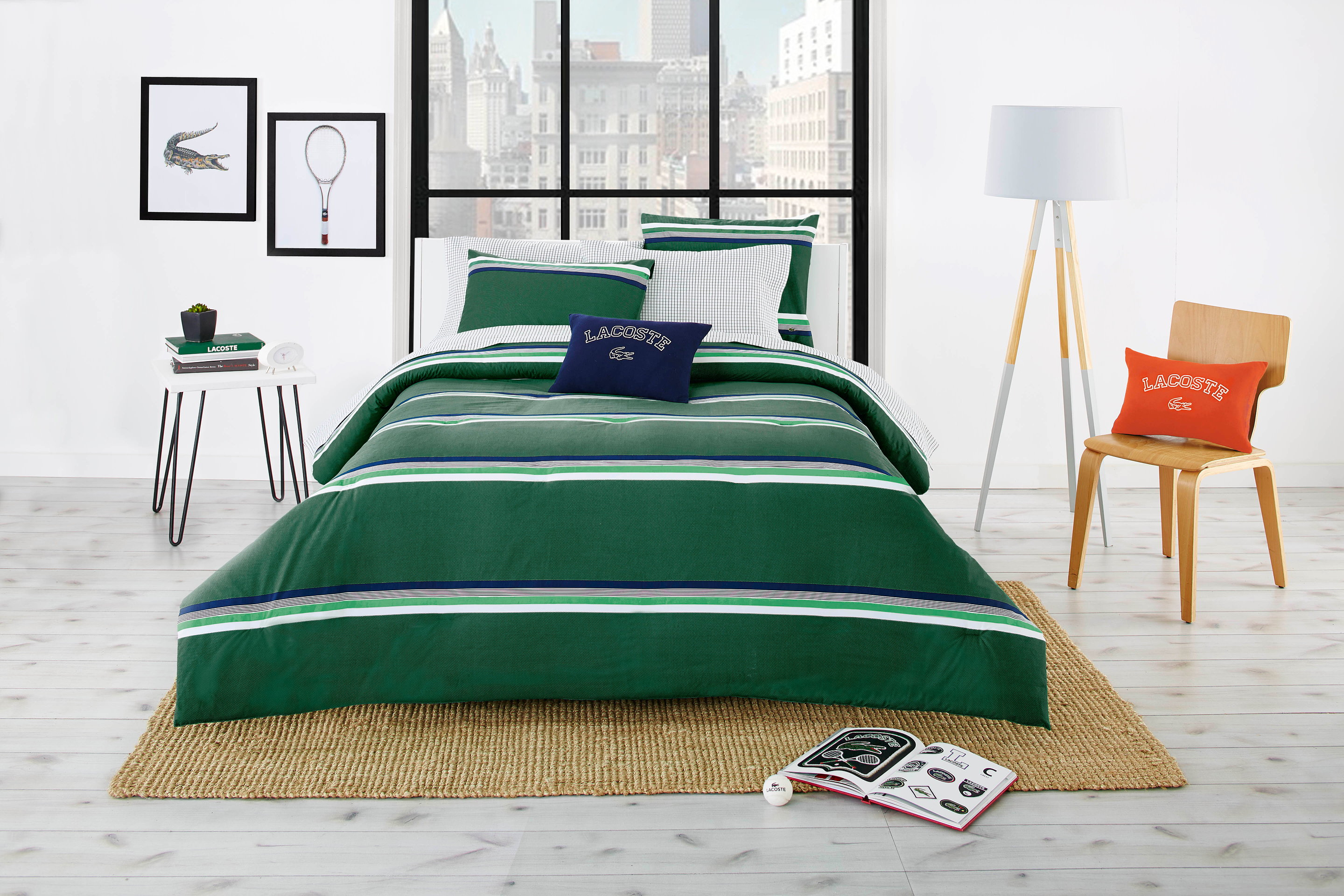 Lacoste College Bedding Collection