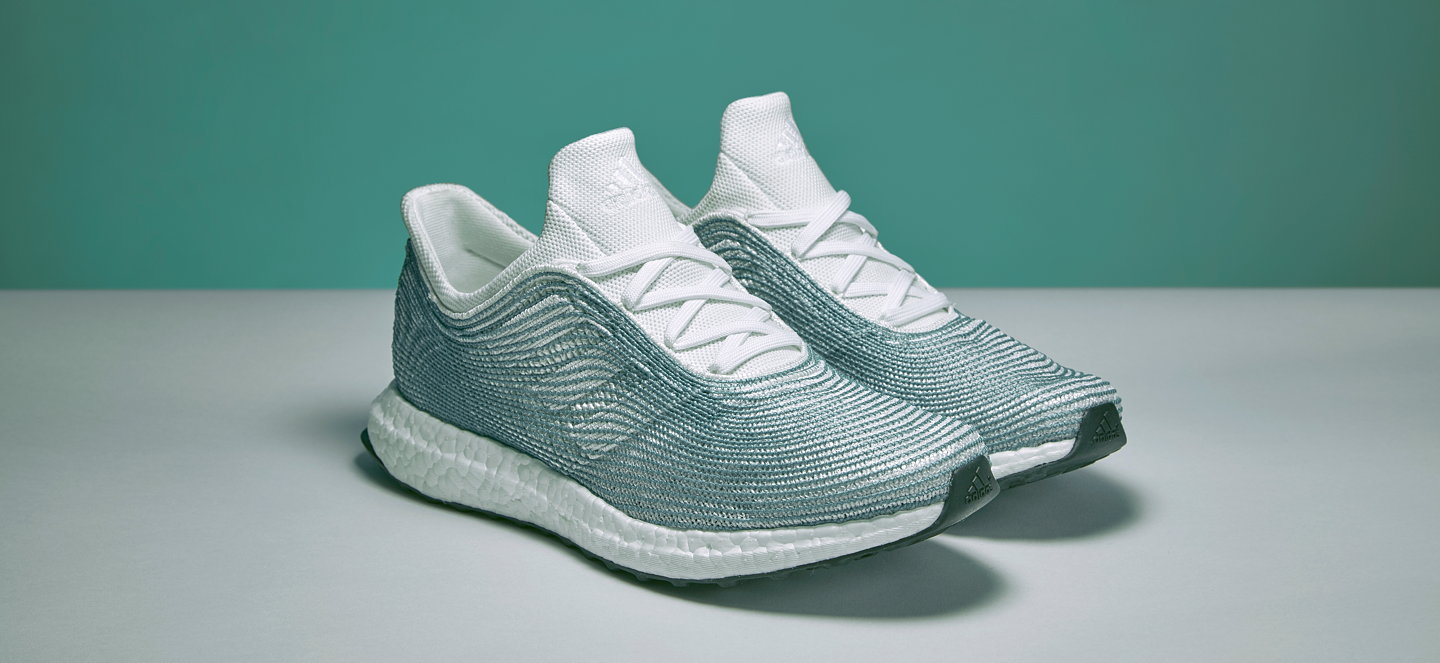 Adidas recently released a limited edition running shoe made from Parley  Ocean Plastic. The plastic is collected in the coastal areas of the  Maldives.