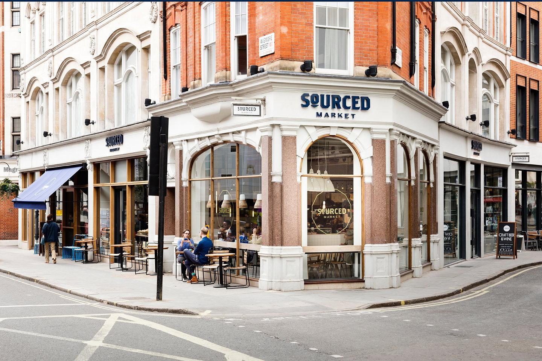 Designlsm Creates Interiors For Sourced Market In Marylebone