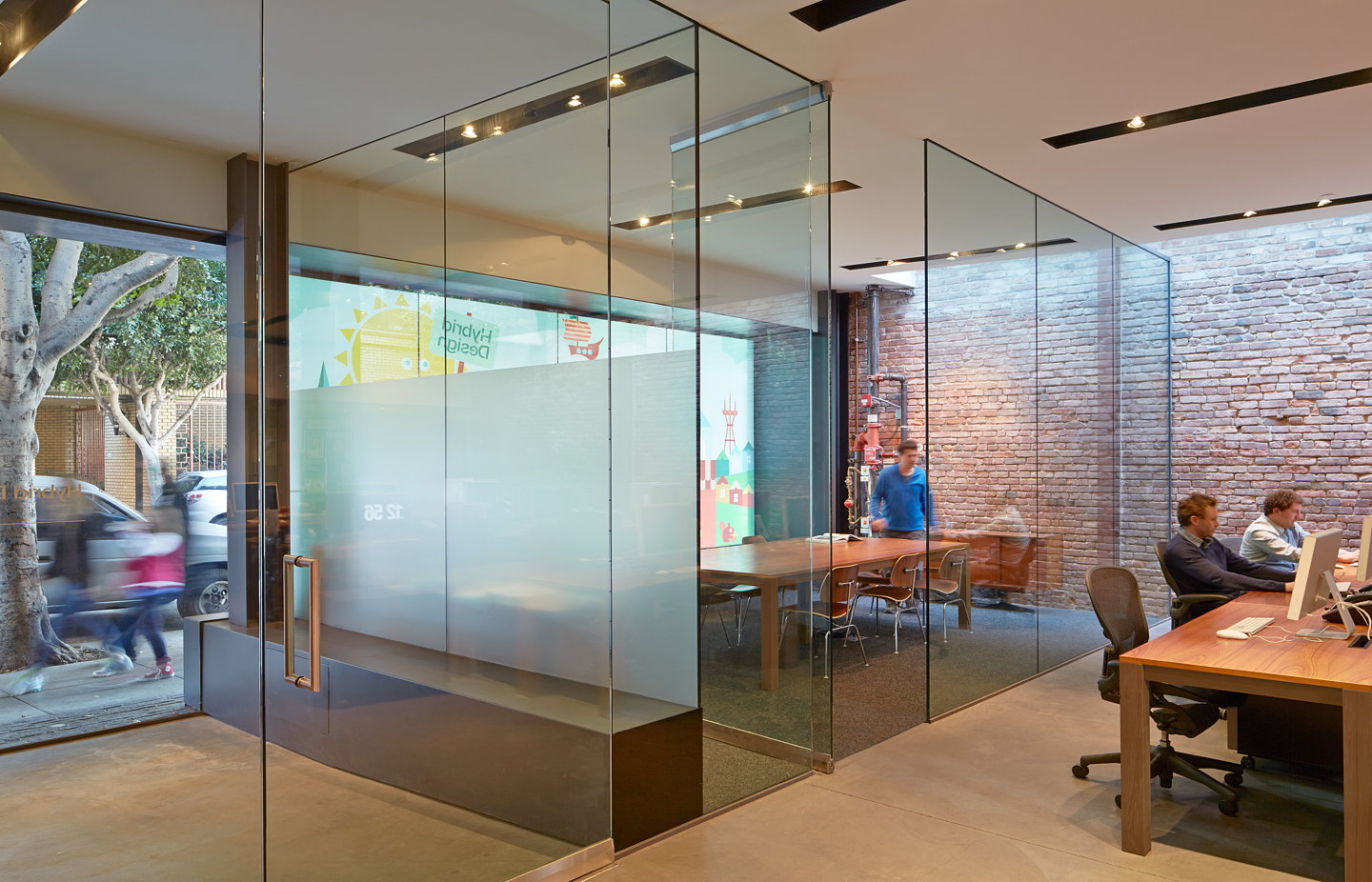 Hybrid design office by terry terry architecture for Architecture hybride