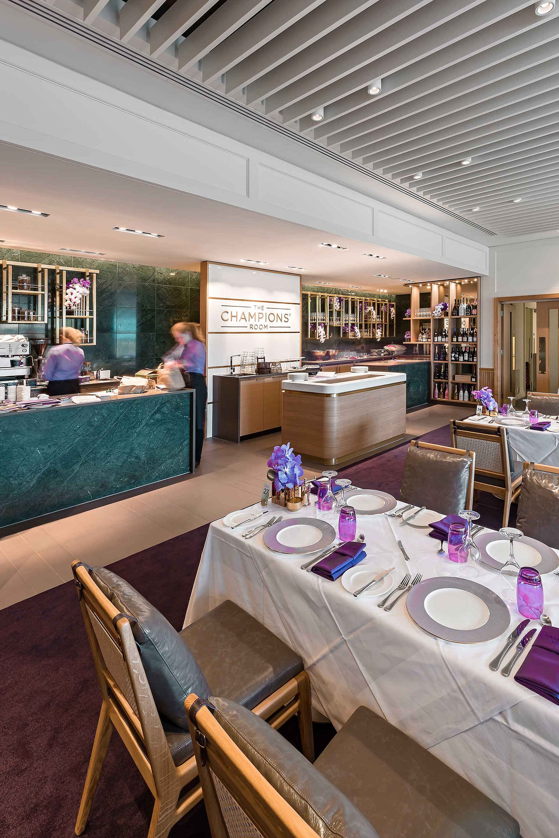 Champions Room Restaurant at Wimbledon by SHH