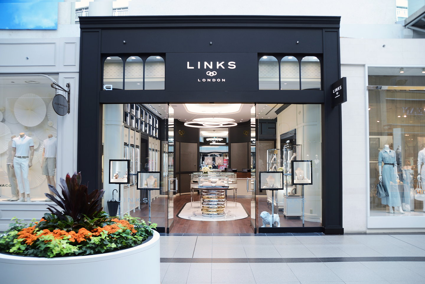 SheridanCo Creates New Retail Interior Design For Links Of London Toronto Store