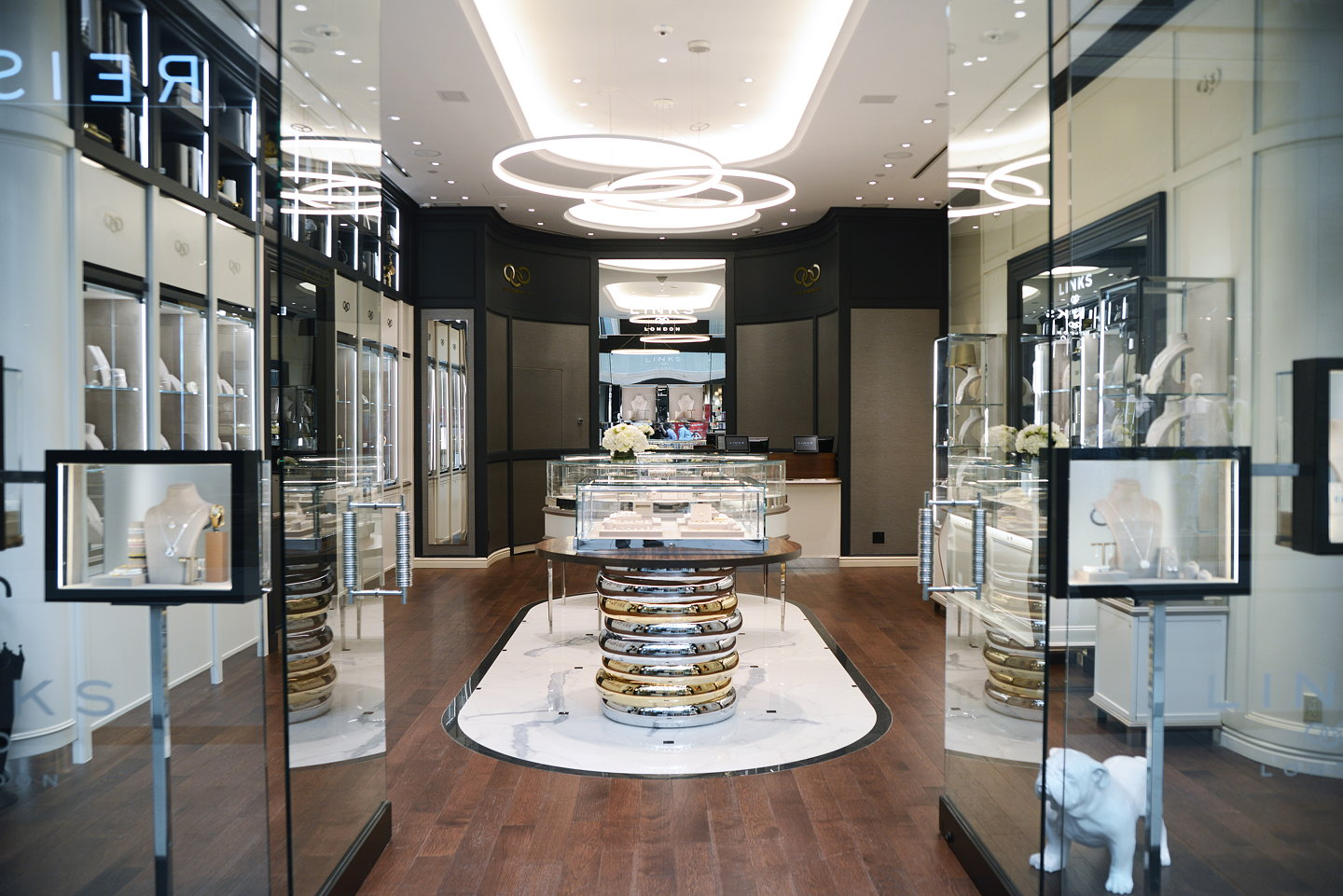 Retail Furniture Sheridanco Creates New Retail Interior Design For Links Of London