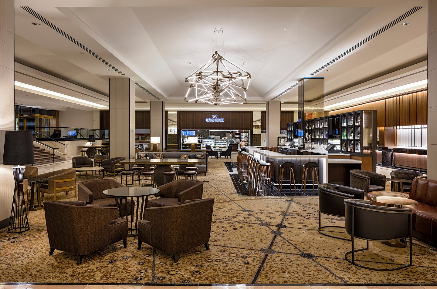 Indidesign Renovates Hilton San Francisco Union Square