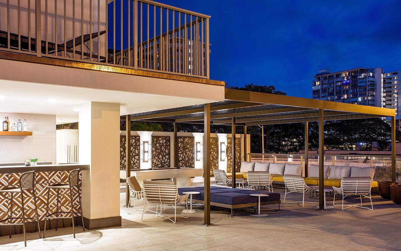 Indidesign renovates hilton garden inn waikiki beach - Hilton garden inn boston marlborough ...