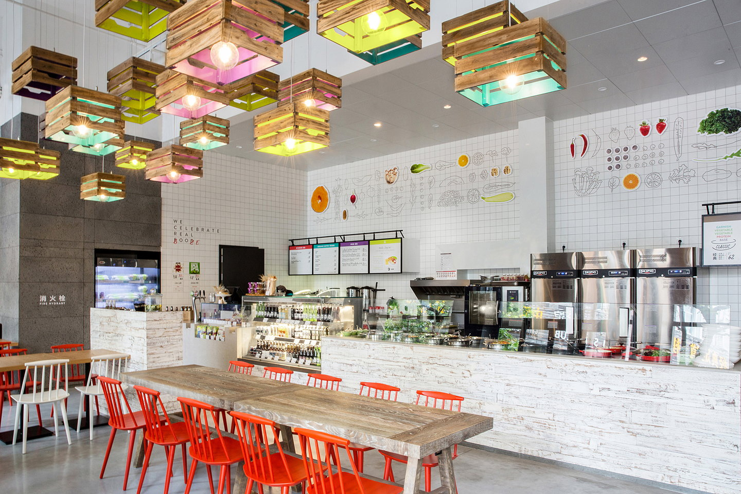 Triad china designs second store for hunter gatherer in