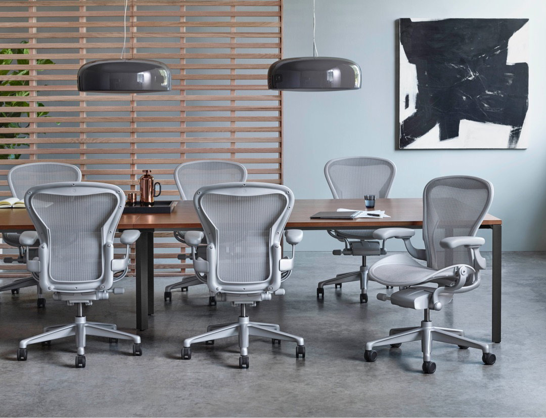 herman miller launches new aeron chair. Black Bedroom Furniture Sets. Home Design Ideas