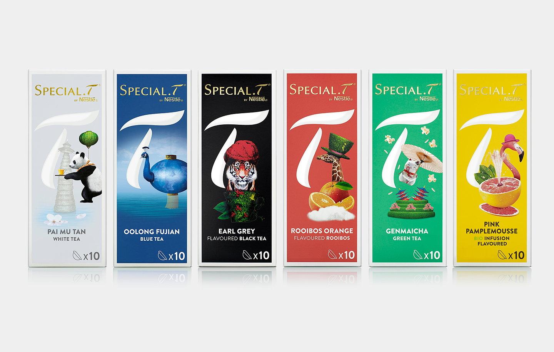 Nestle specialt - Distributeur capsules special t ...