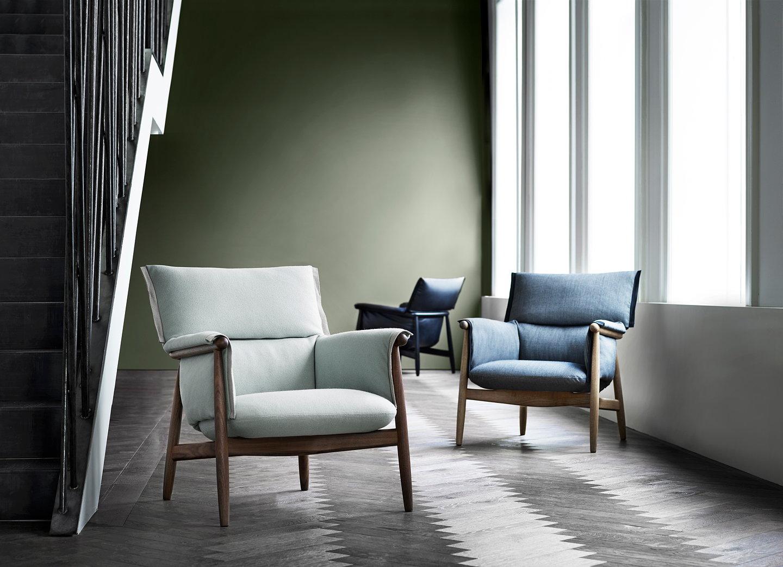 carl hansen son unveils embrace lounge chair. Black Bedroom Furniture Sets. Home Design Ideas