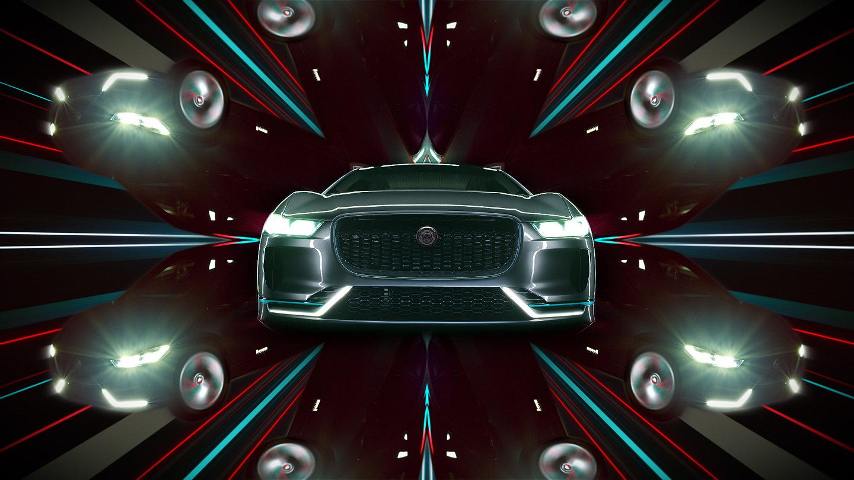 Jaguar I Pace Ad By Frame