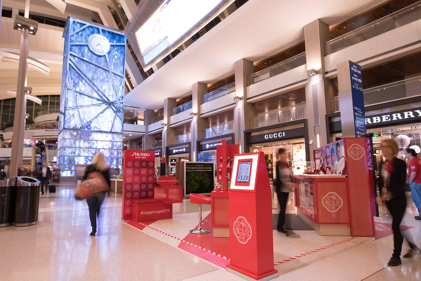 Bloom Miami Creates Shiseidos First US Retail Activation At LAX
