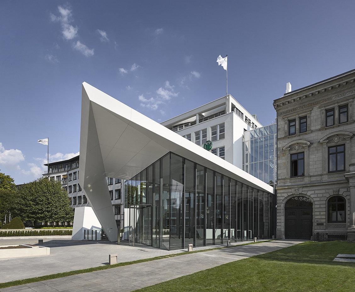 Querkopf architekten creates sculpture like flying roof - Querkopf architekten ...