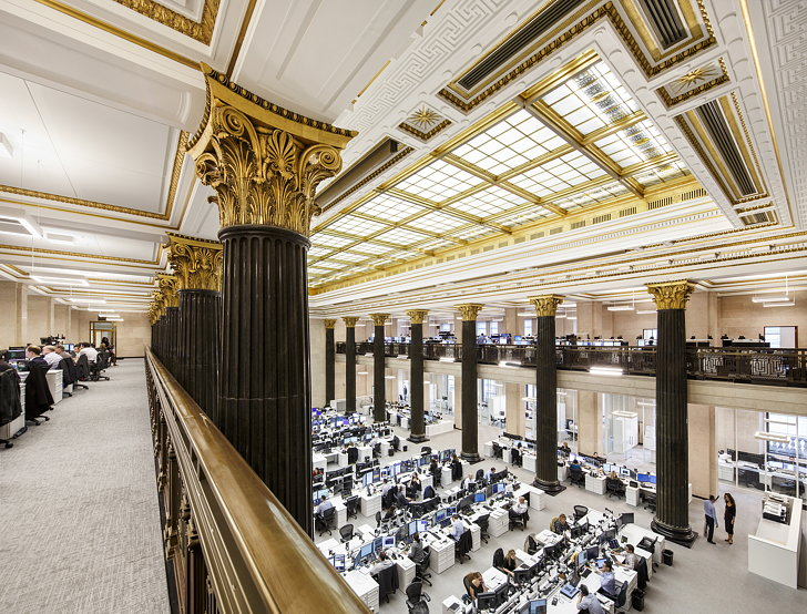 National Bank Of Canada S New Montreal Trading Floor By Architecture49