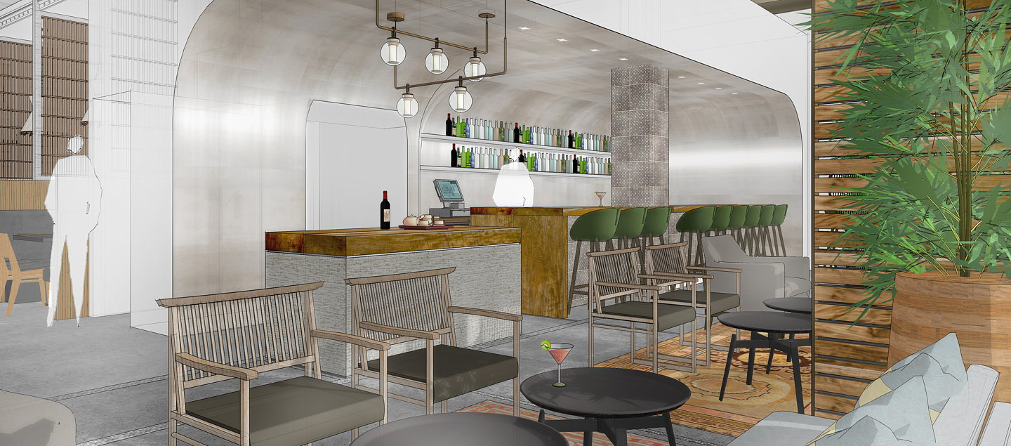 SkB Architects Redesigns Wild Ginger Restaurant At Lincoln Square