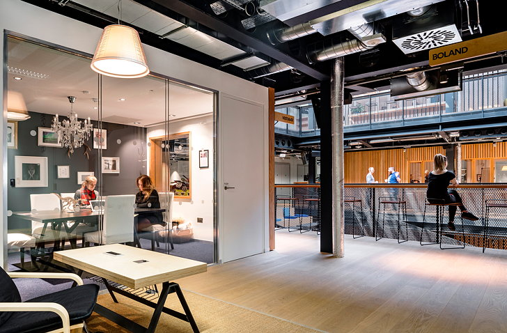 The warehouse airbnb 39 s new international headquarters in dublin - Airbnb office dublin address ...