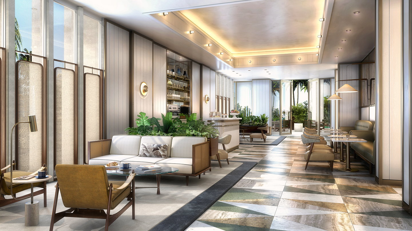 Kobi karp designs nautical project in yachting capital of for Private gallery pattern
