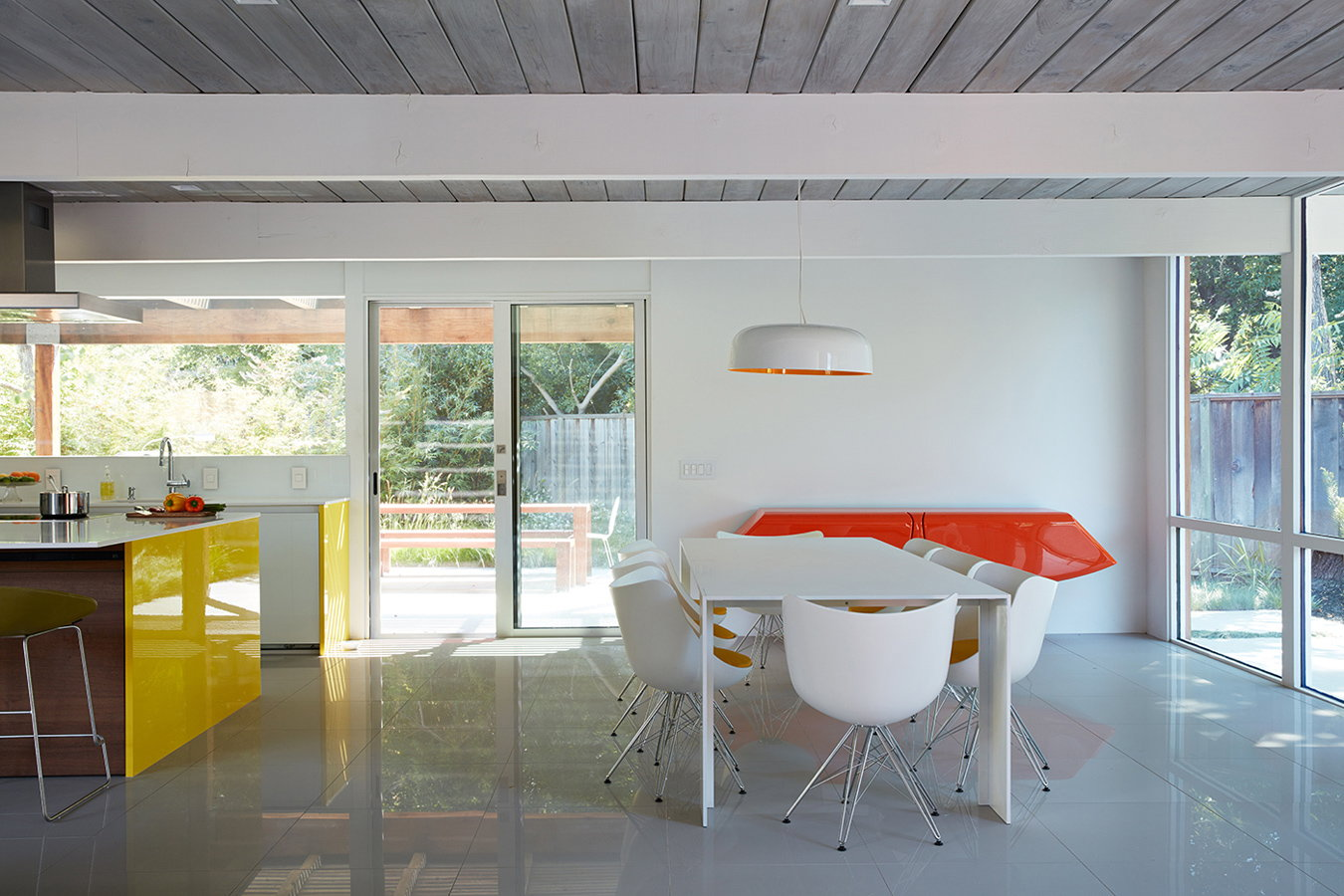 Mountain View Double Gable Eichler Remodel