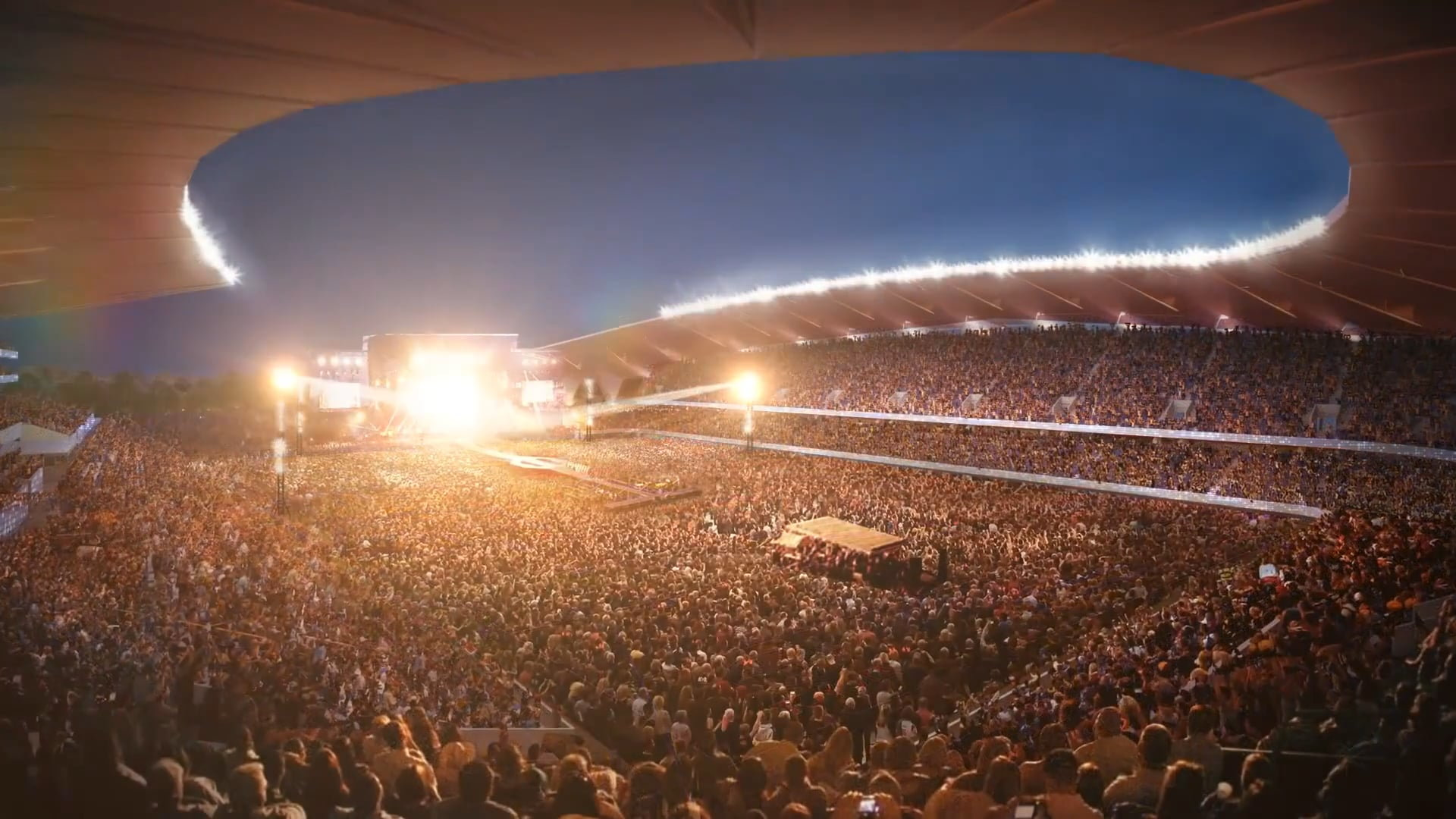 North Queensland Stadium Concept Design