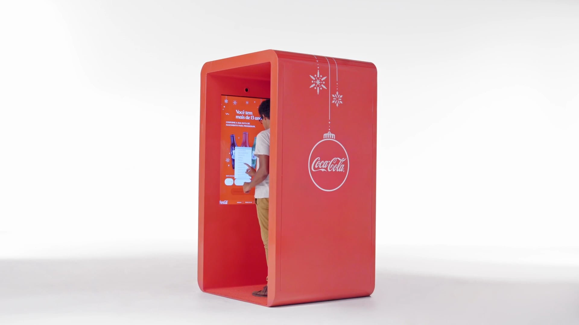 Coca-Cola Thanks Box